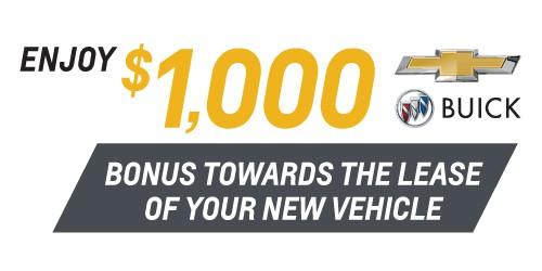 Lease Cash Bonus