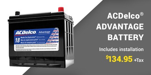 ACDelco® Advantage Battery