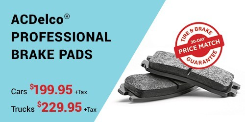 ACDelco® Professional Brake Pads