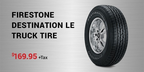 Firestone Destination LE Truck Tire