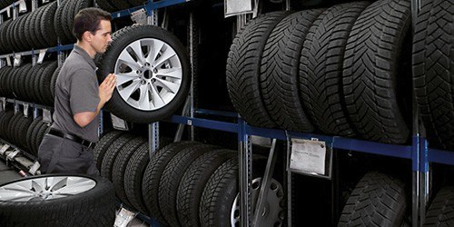 Tire Storage Special—$90 Per Season!