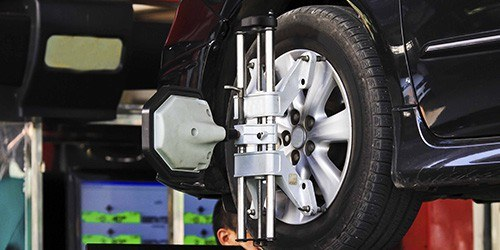 Seasonal Maintenance Specials—$29.95 Wheel Alignment