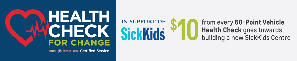 Applewood Chevrolet Health Check Service Sick Kid Special