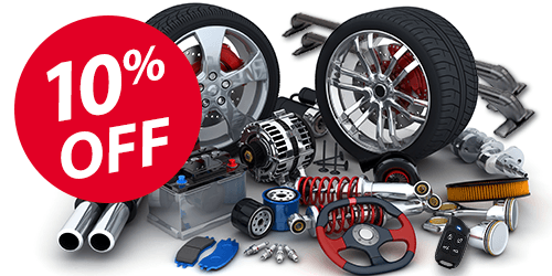 10% Off GM Parts & Accessories In Store