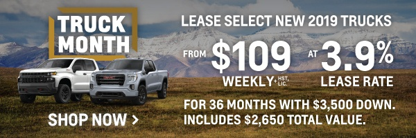 Applewood Chevrolet Cadillac Buick GMC Truck Month Promotion in Mississauga