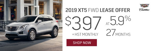 Cadillac XT5 Lease In Mississauga