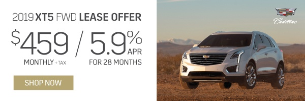 Cadillac XT5 Offers in Mississauga