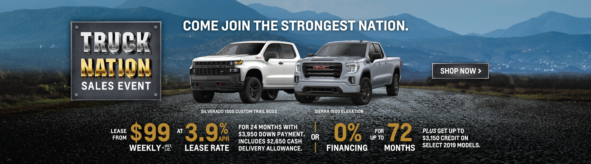 Applewood Chevrolet Cadillac Buick GMC Truck Nation Promotion in Mississauga
