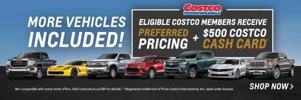 Chevrolet & GMC Costco Preferred Pricing in Mississauga