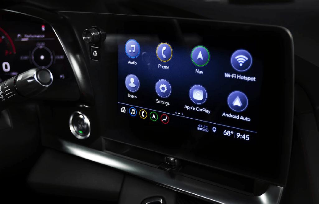 2020 Chevrolet Corvette Technology