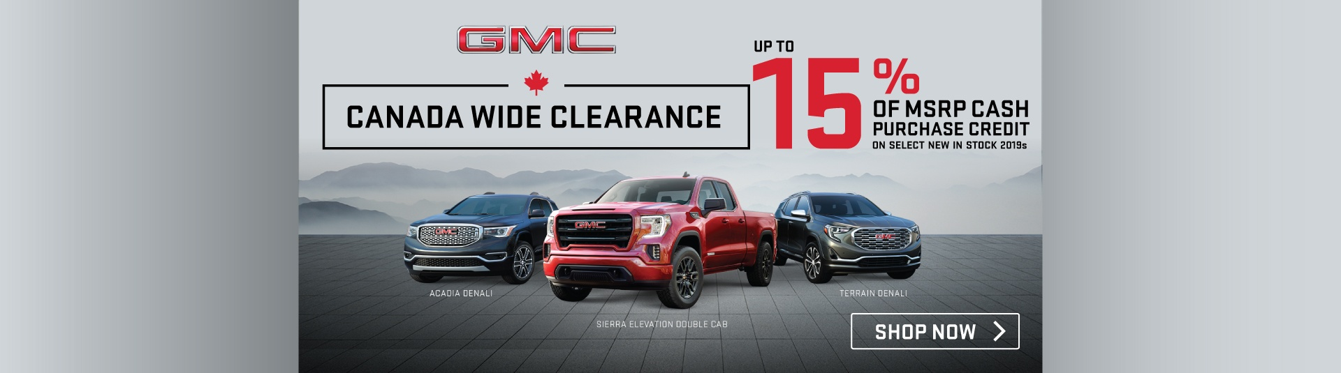 Applewood GMC Clearance Event in Mississauga