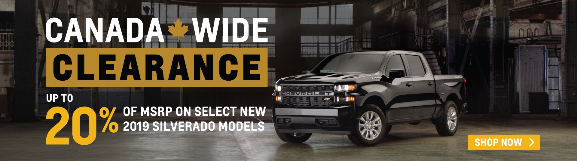 Applewood Chevrolet Clearance Event in Mississauga