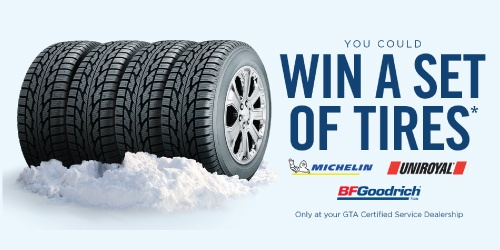 Win A Set Of Tires