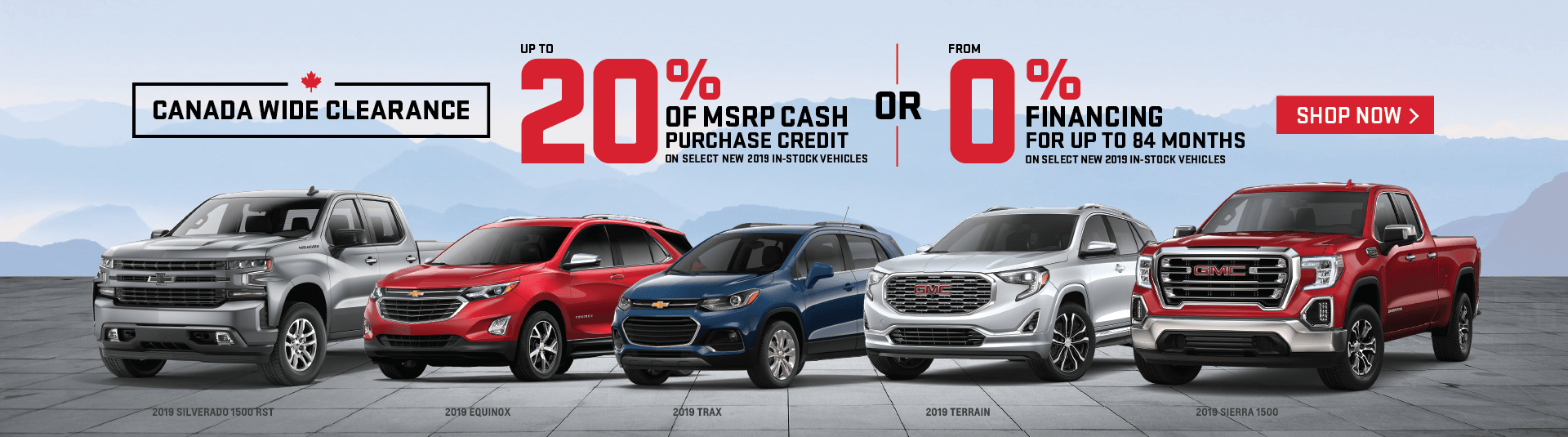 Applewood Chevrolet and GMC Clearance Event in Mississauga