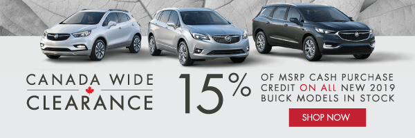 Applewood Buick Clearance Event in Mississauga