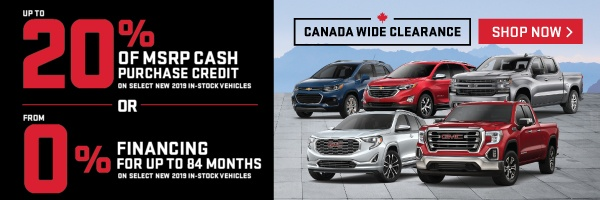 Applewood Chevrolet and GMC Clearance in Mississauga