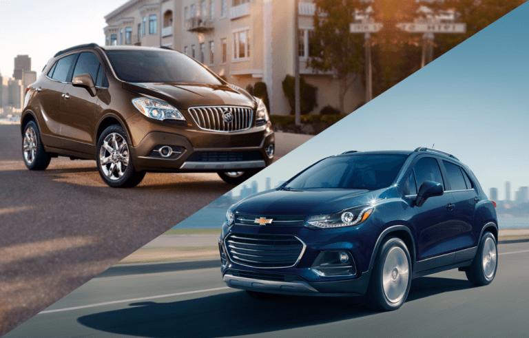 Buick Encore vs. Chevrolet Trax