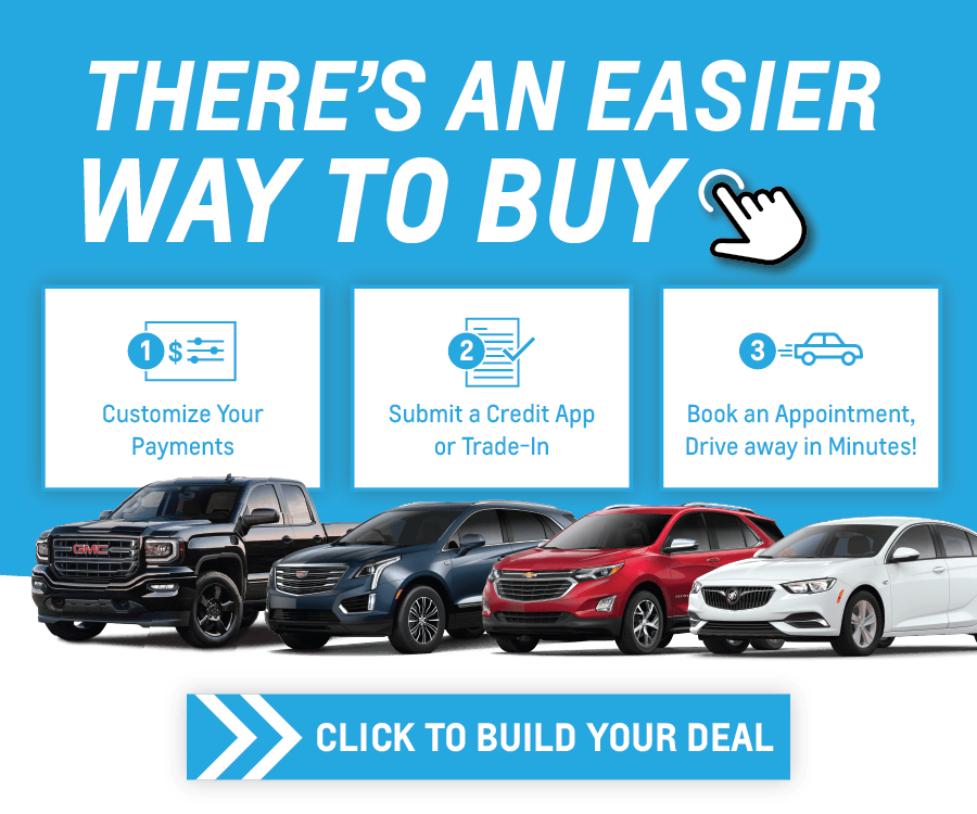 Shop Chevrolet, Cadillac, Buick, GMC Cars, Trucks and SUVs online in Mississauga