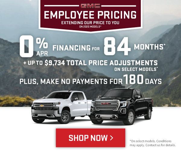 Chevrolet Silverado and GMC Sierra Offers in Mississauga
