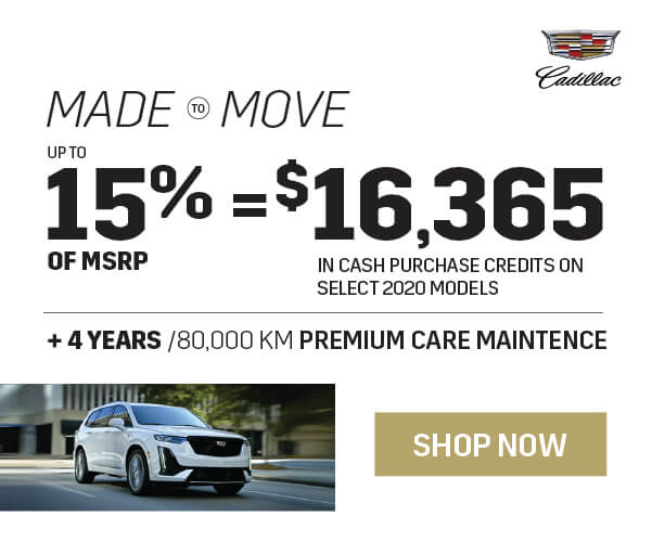 Cadillac April Offers in Mississauga
