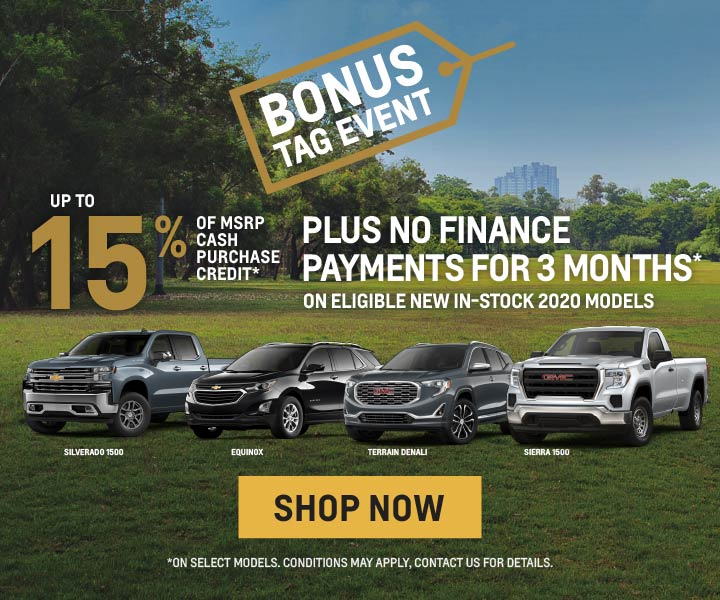 Applewood Chevrolet Cadillac Buick GMC Offers in Mississauga