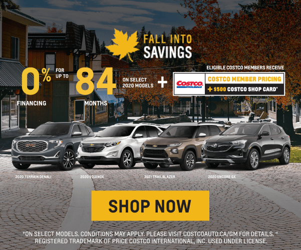 Chevrolet, Buick and GMC Fall Into Savings Sales Event in Mississauga