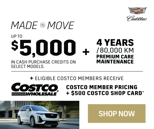 Cadillac Vehicle Promotion in Mississauga