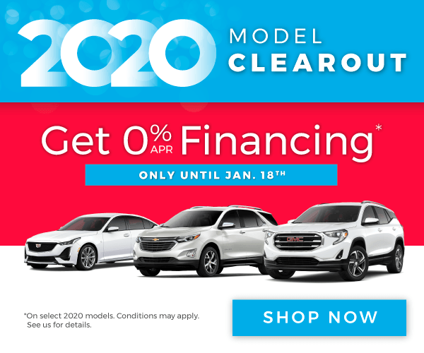 Chevrolet, Buick, GMC and Cadillac Model Clearout in Mississauga - Last Chance To Get 0% Financing