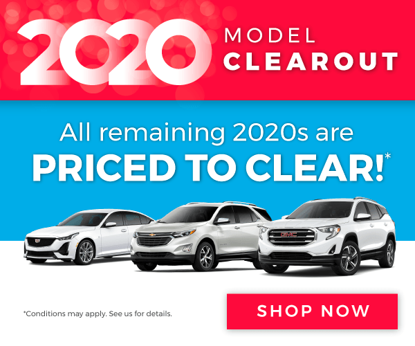 Chevrolet, Buick, GMC and Cadillac Model Clearout in Mississauga