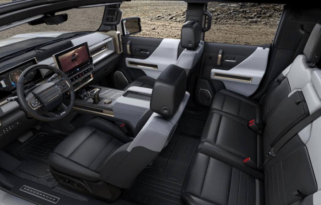 GMC Hummer EV interior