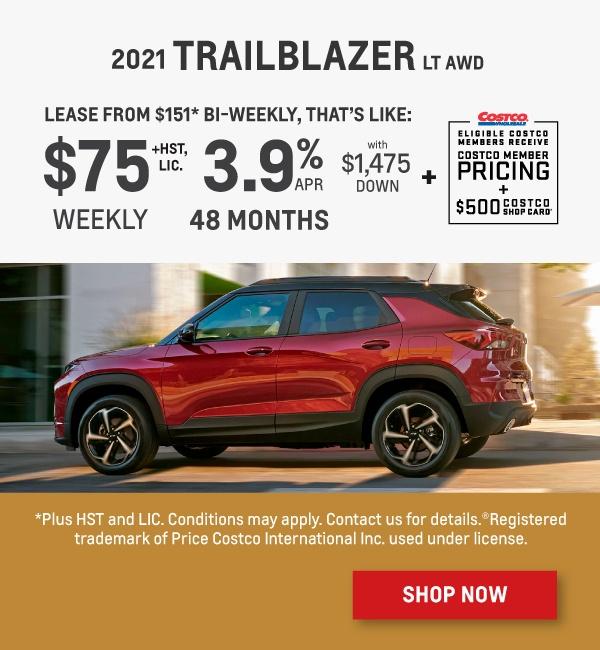 2021 Chevrolet Trailblazer Offer in Mississauga