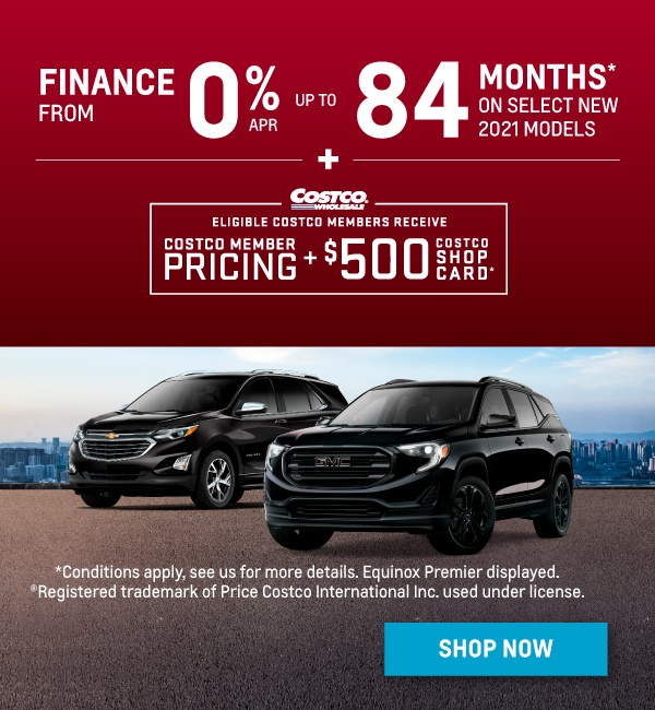 2021 Chevrolet Equinox and GMC Terrain Offers in Mississauga